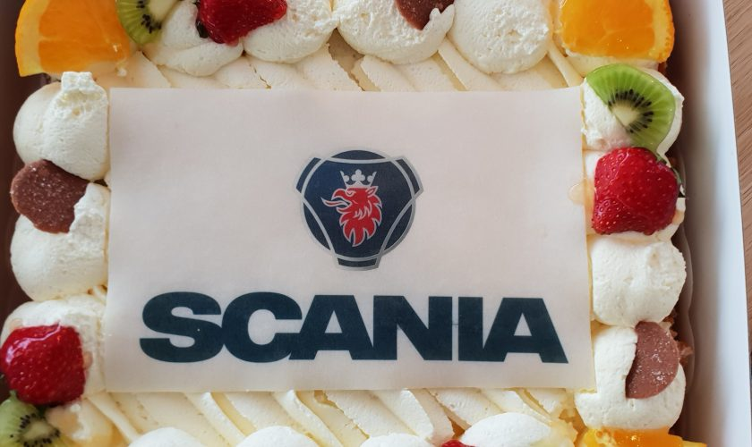 Scania taart