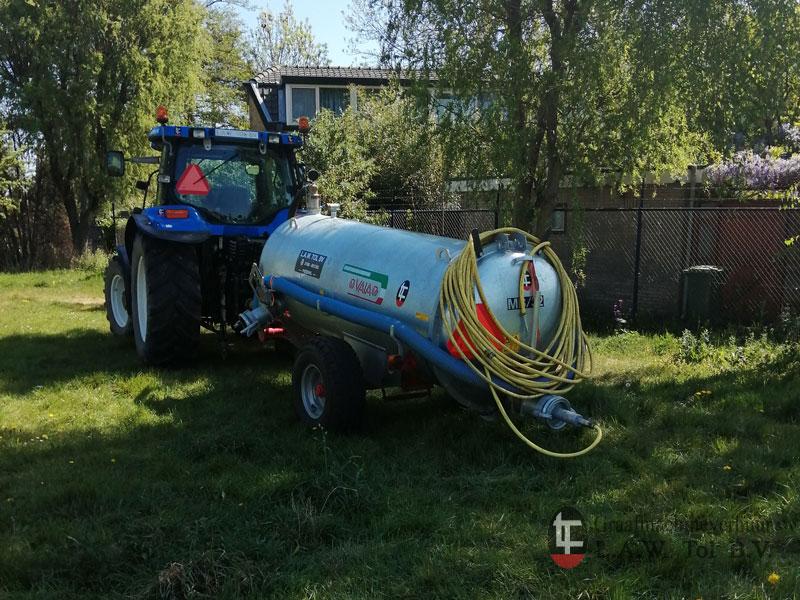 Boonstoppel Groen waterwagen