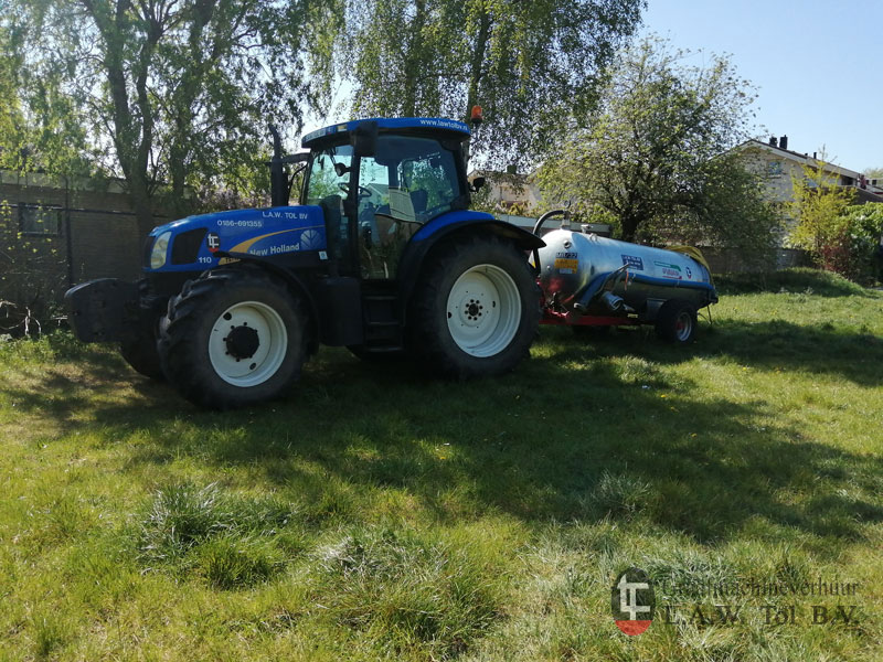 New Holland TS115 Boonstoppel Groen