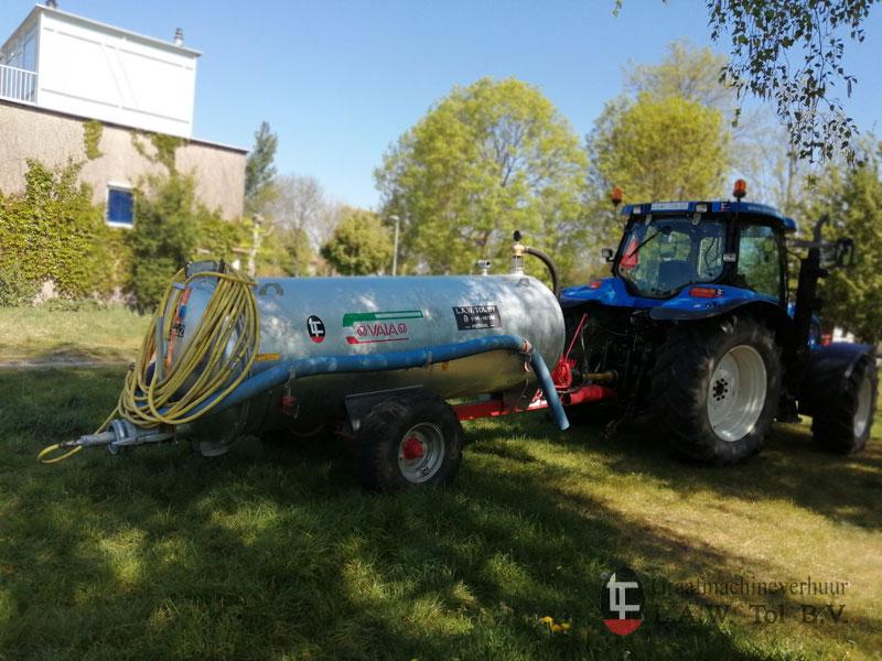 Waterwagen Boonstoppel Groen