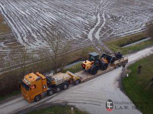 Dieplader Transport CASE 521G