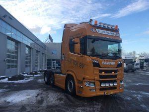 Nieuwe Scania Truck