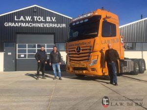 Nieuwe vrachtwagen Tol-BV