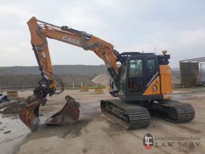 Nieuwe CASE CX145D-SR Binnendraaier