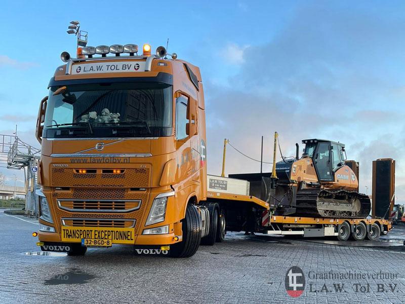 Bulldozer Transport