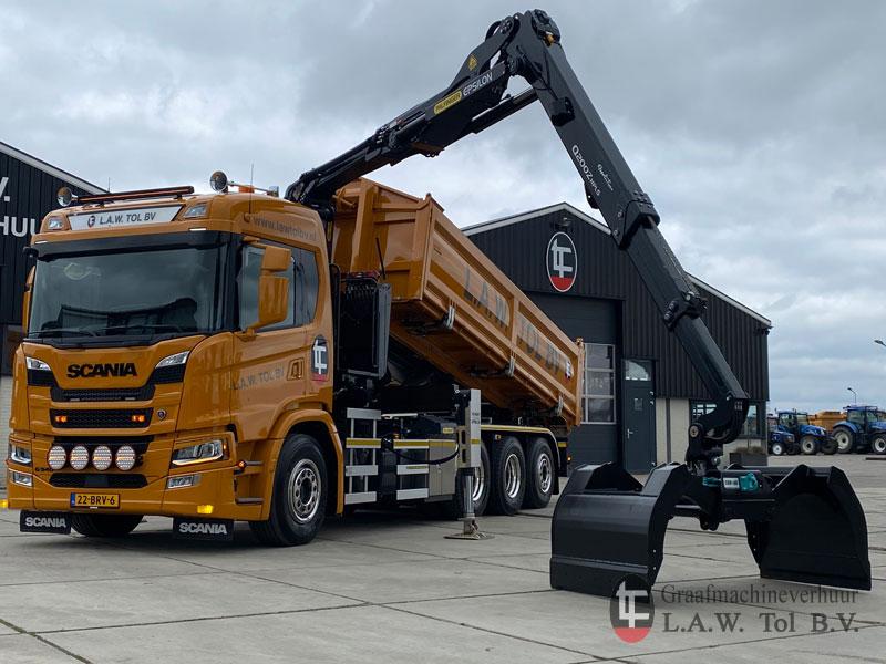 NIeuwe Scania in gebruik