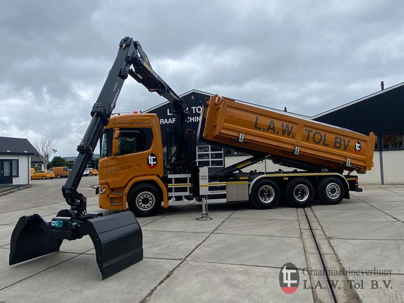 Nieuwe knijperwagen Scania